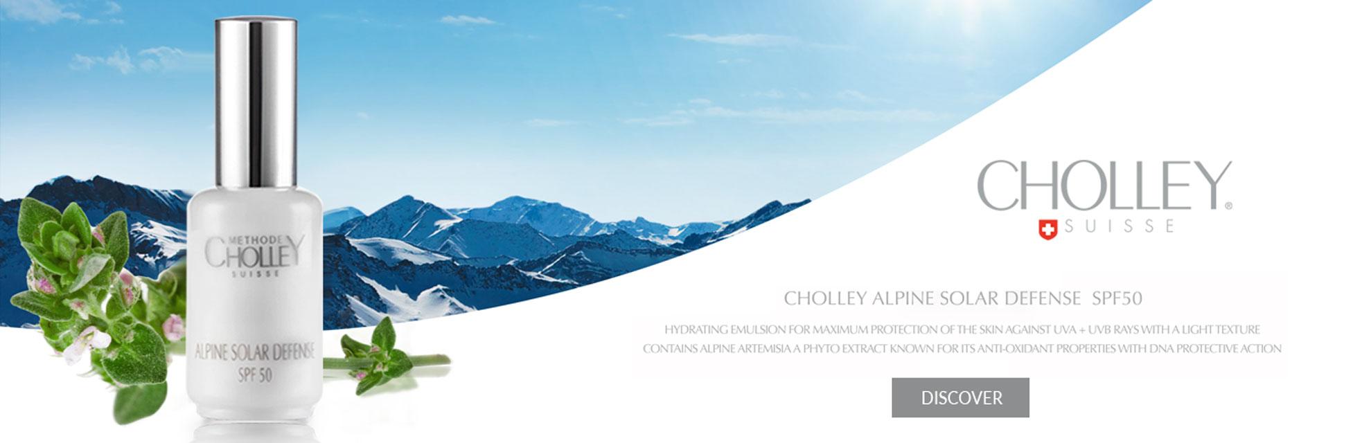 CHOLLEY Alpine Solar Defense SPF50