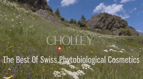 swiss skincare products  CHOLLEY