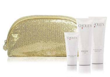 NEW_CHOLLEY Kit Promo Pochette Oro