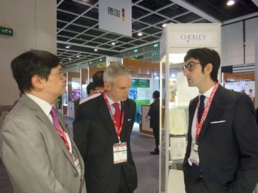 Visit of Mr Reto Renggli , the Swiss Consul General  in Hong Kong