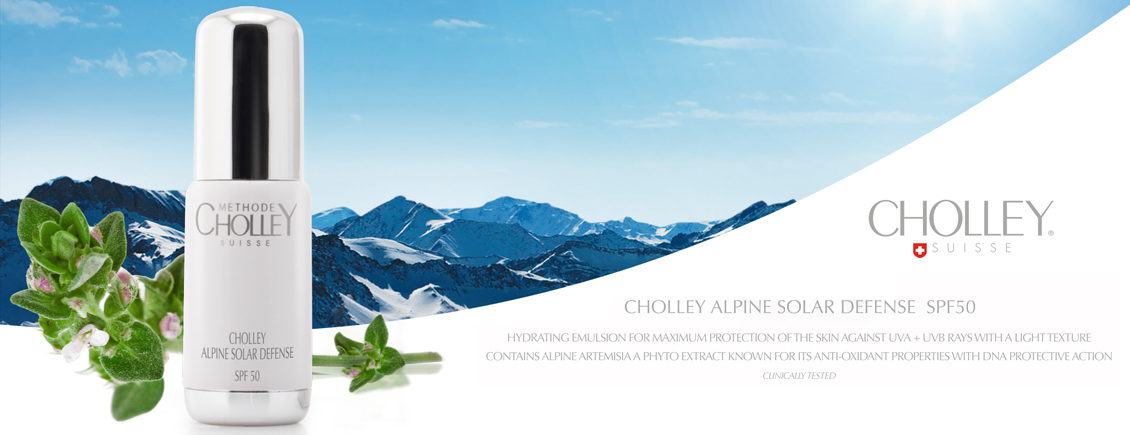 CHOLLEY Alpine Solar Defense SPF50